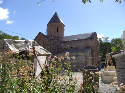 Armenische Kirche Ishan in Ostanatolien