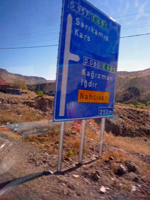 Auf der Straße nach Kars