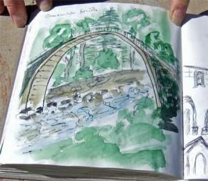 Osmanische Brücke in Ostanatolien