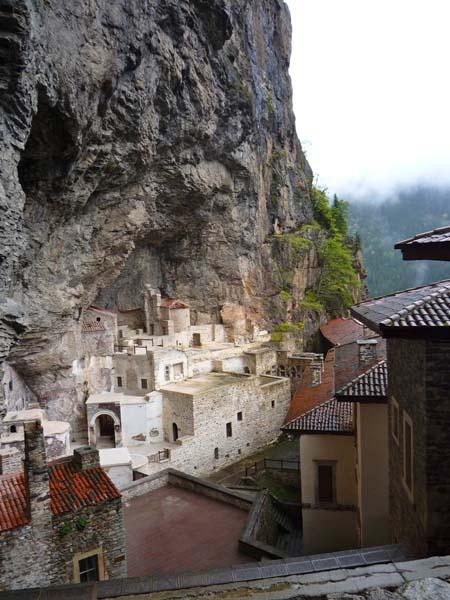 Sumela Kloster in Ostanatolien