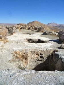 Getreidelager in der Ausgrabungsstätte Çavuştepe