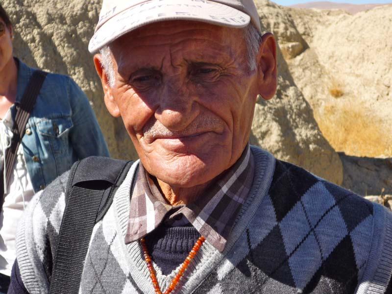 Wächter und Keilschriftkundiger von Çavuştepe