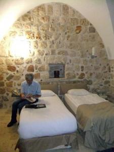 Unser schönes Hotel in Midyat