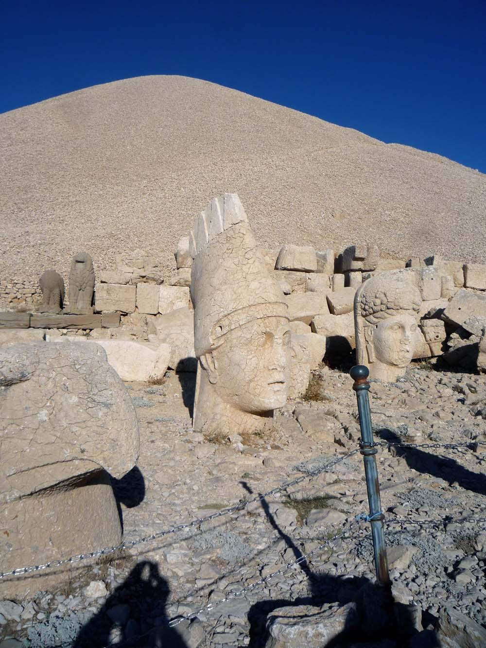 Am Berg der Götter - Nemrut Dag