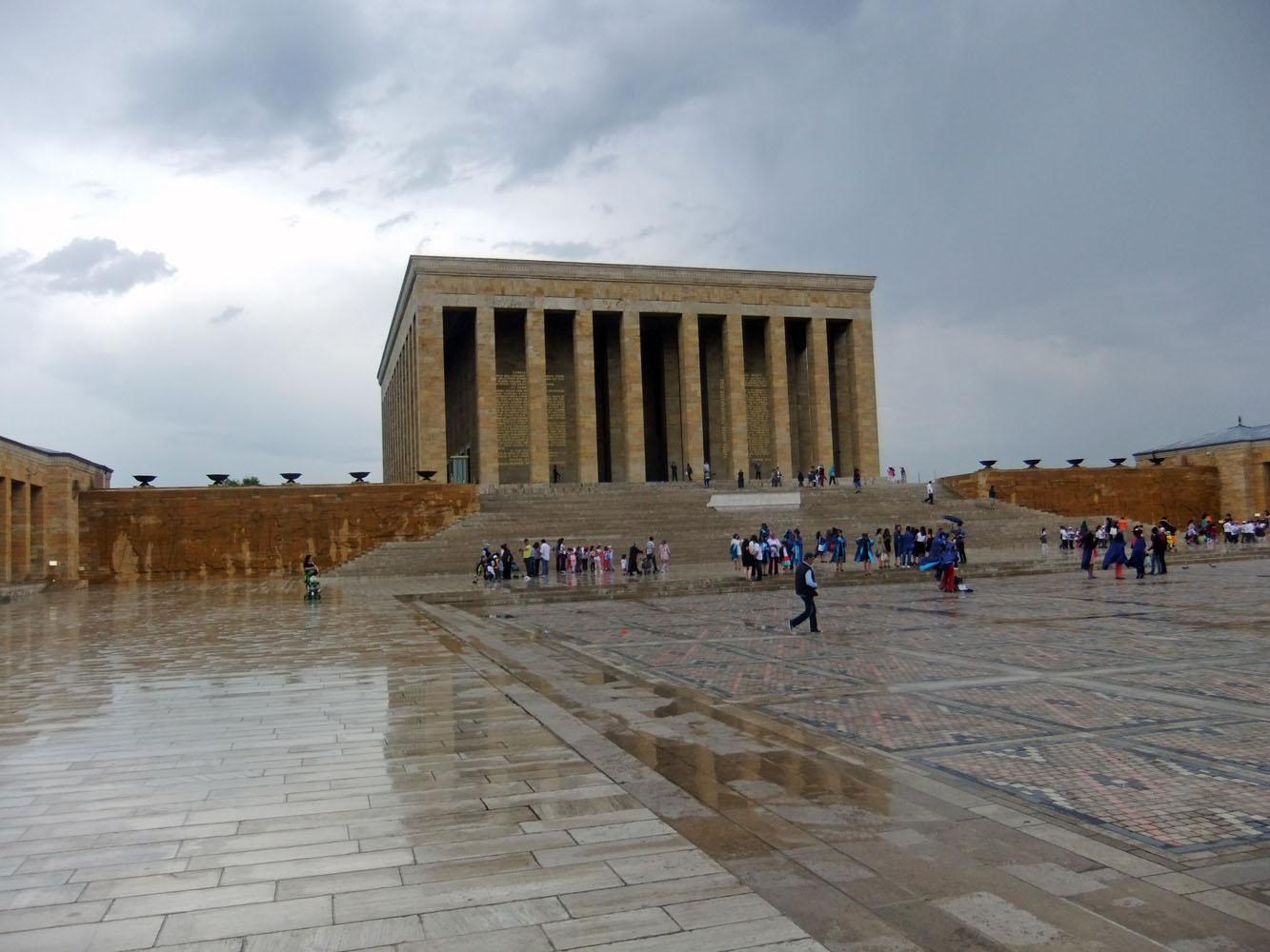 Atatürks Gedenkstätte