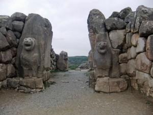 Löwentor in Hattuscha