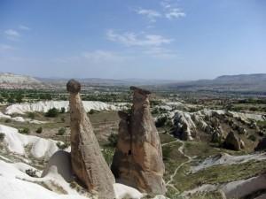 Die drei Grazien in Kapadokien
