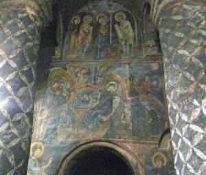 Fresken in Eski Gümüs