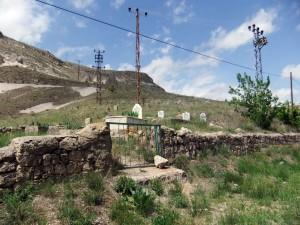 Friedhof im Sognali Tal, Kappadokien