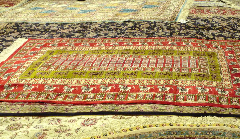 Besuch in einer Teppichmanufaktur