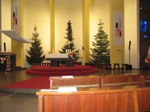 Kirche St. Lioba in der Seelsorgeeinheit Mannheim Nord