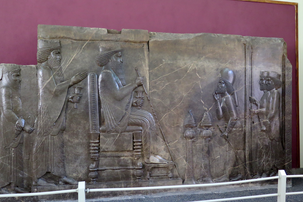 Reliefszene aus Persepolis - Audienzrelief