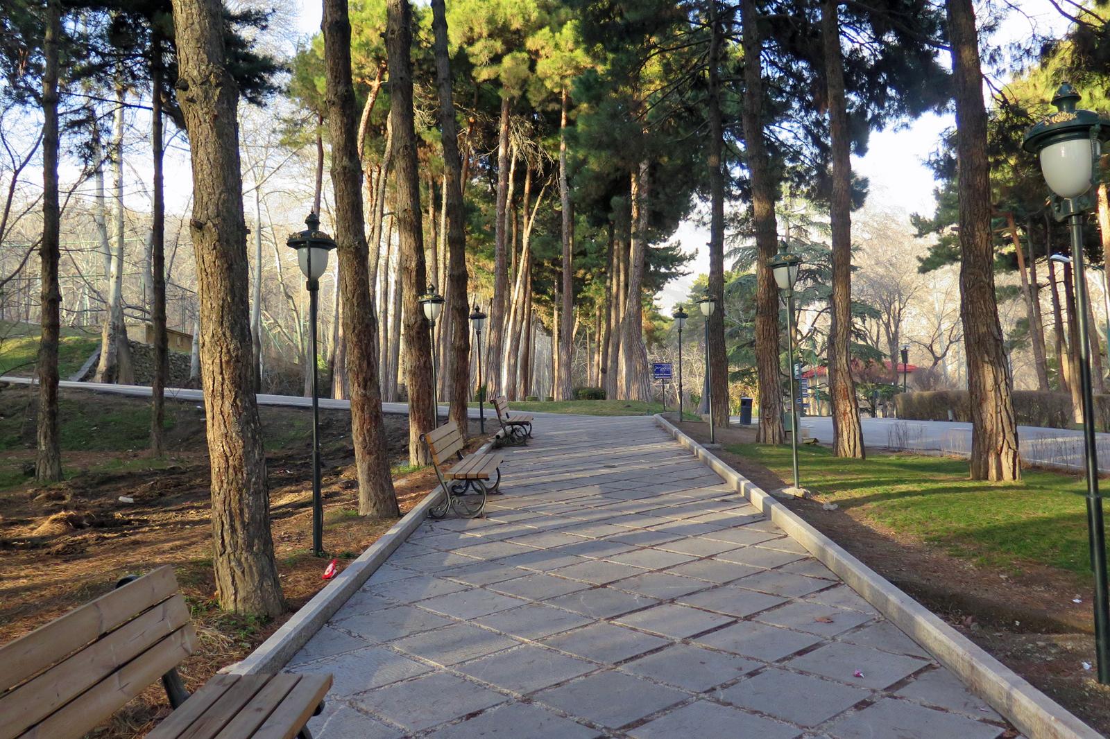 ehemaligen Residenz der Pahlavi-Dynastie