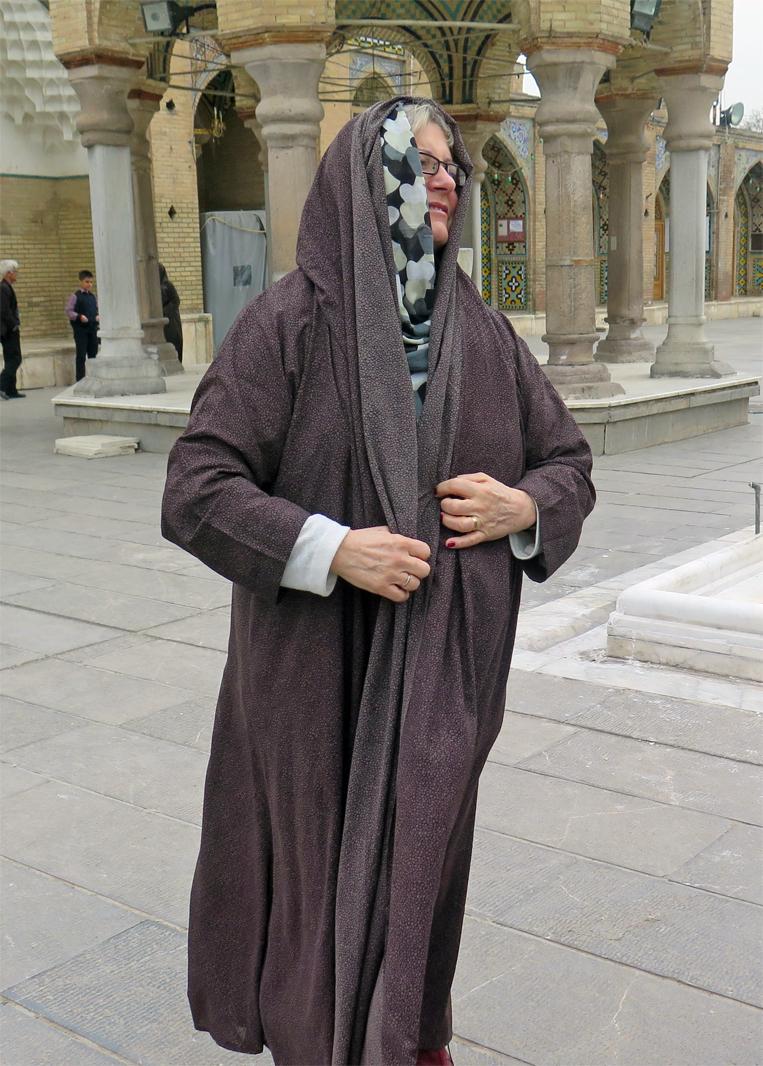 Besuch des Imamzadeh Hossein in Qazwin