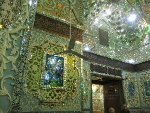 Innenraum des Imamzadeh Hossein