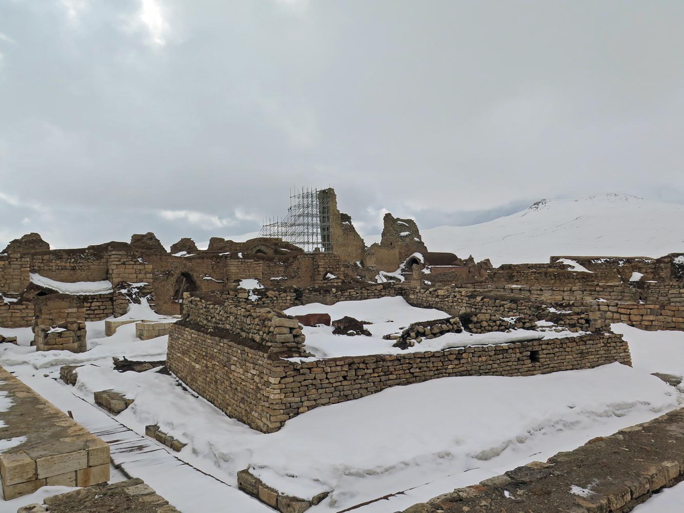Ruinen von Tacht-e Soleymann