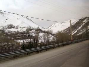 Landschaft um Hamadan-Iran