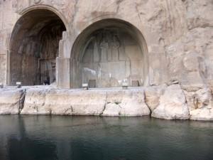 Grotten von Taq-e Bostan, Iran