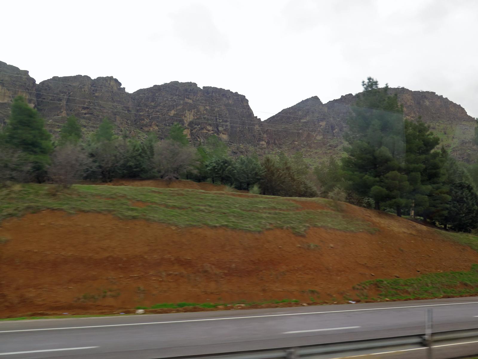 Fahrt durch das Zagrosgebirge