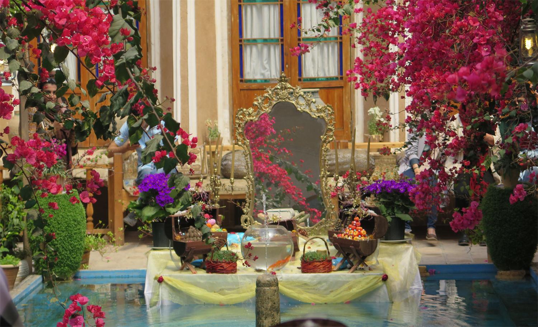 Haft Sin Tisch, der Neujahrstisch der Iraner