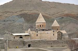 Die armenische Thaddäuskirche im Iran