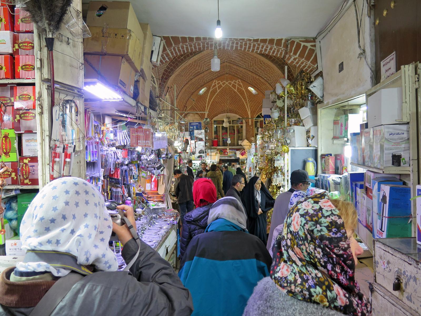 Basar von Täbris- Iran