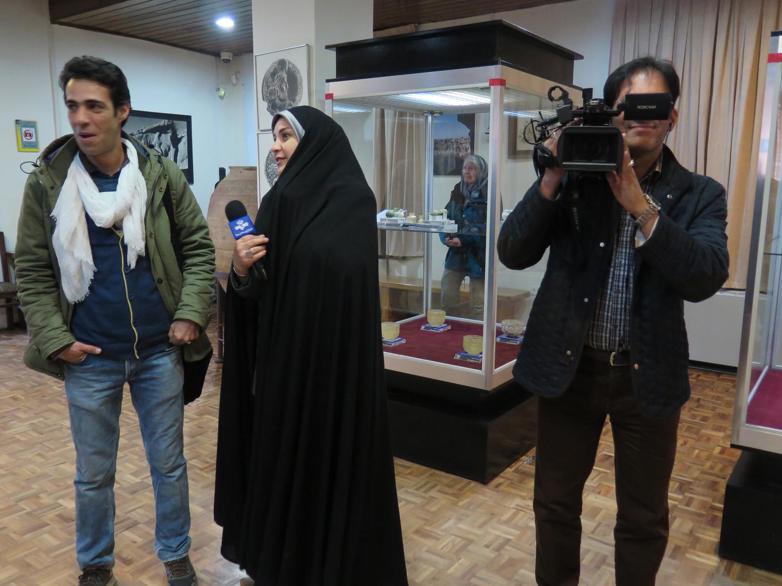 9. - im Aserbaidschan-Museeum Täbris