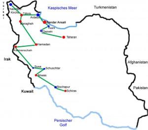 Ahwas-Schiras - Iran