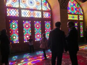Farbenspiel in der Nasr-ol-Molk-Moschee